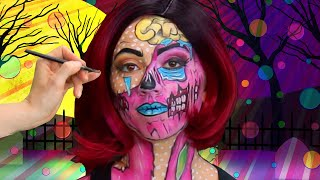 Halloween Zombie Face Paint | Sillypop