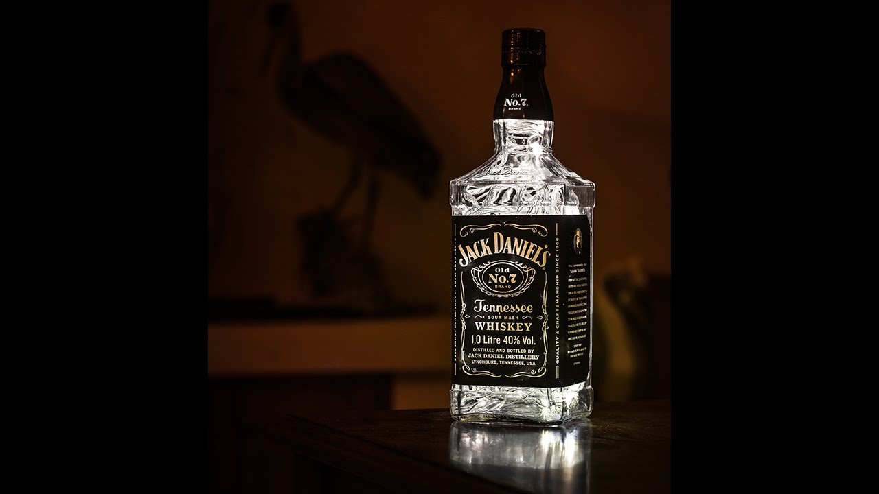 how to make a jack daniels lamp