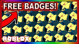 ALL *EXCLUSIVE* HOW TO GET FREE BADGES ROBLOX! ROBLOX [1008 BADGES] Roblox Free Badges