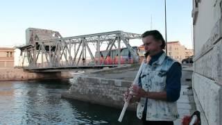 Patrick Geffroy(wind instrument)Sète Impromptu Léa Ciari vidéo À l