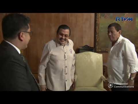 Meeting with Former President and Manila City Mayor Joseph Estrada 11/23/2017