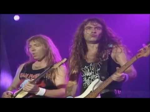 Iron Maiden-From Here To Eternity(Raising Hell 1993)Legendado Tradução HD 1080p