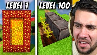Minecraft Life Hacks From Level 1 to Level 100 (part 2)