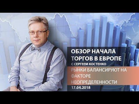 Аналитика рынка: Рынки балансируют на факторе неопределенности - Обзор открытия европейской сессии