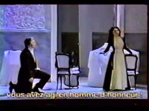 Dmitri Hvorostovsky and Nuccia Focile - Eugene Onegin - Final Scene