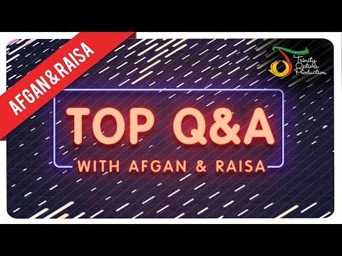 TOP Q&A with Afgan & Raisa