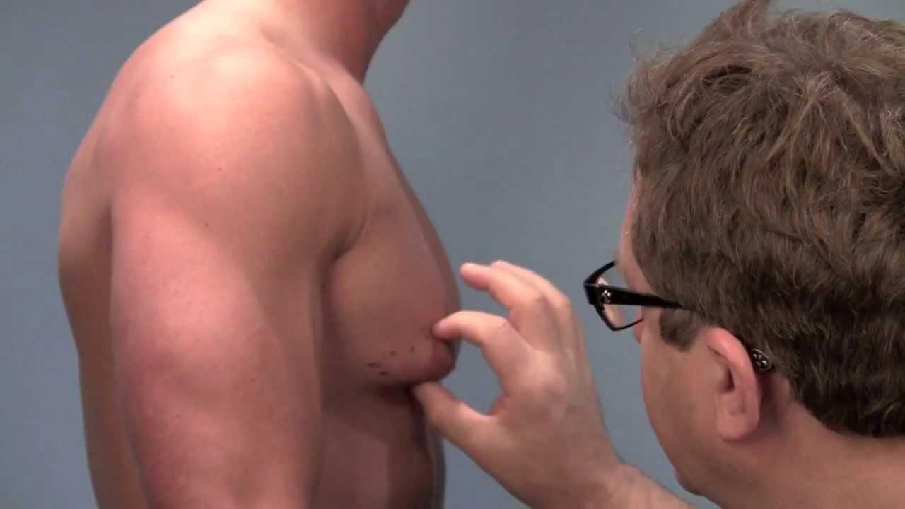 hot male breast