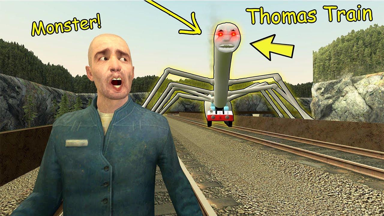 Never Go To Thomas Train Monster