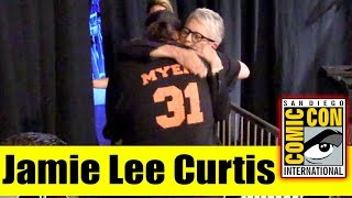 JAMIE LEE CURTIS Comforts a Fan at Comic Con Whose Life She Saved