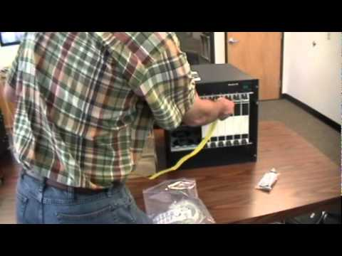 Setting up VeriWave's WaveTest Chassis