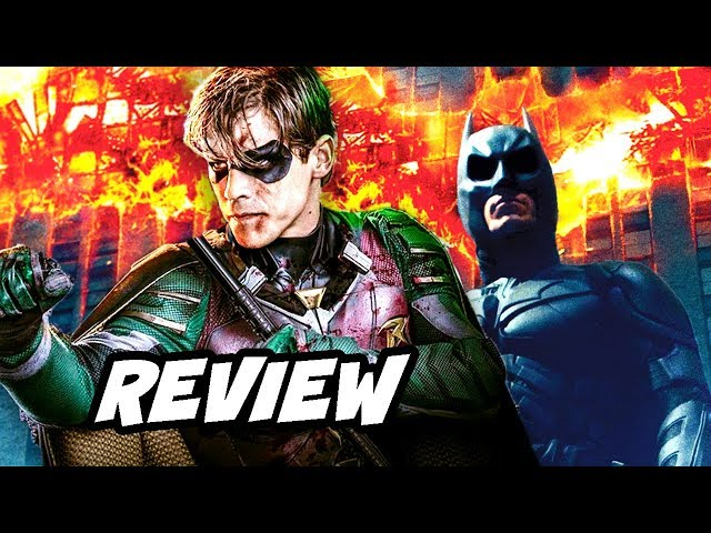 Titans Episode Review NO SPOILERS - Robin Beast Boy Raven and Starfire