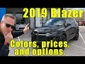 2019 Chevrolet Blazer Pricing, Option list, and more EXPLAINED!