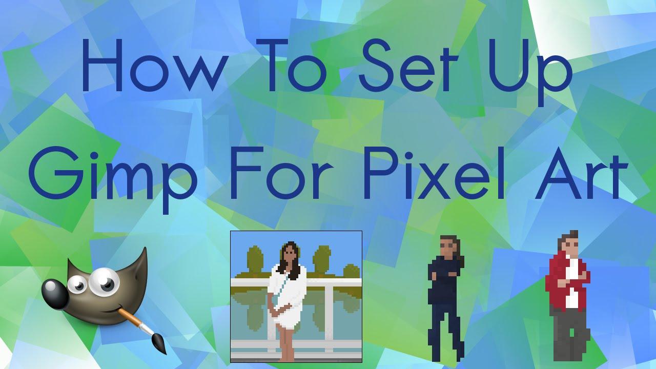pixel art w gimpie