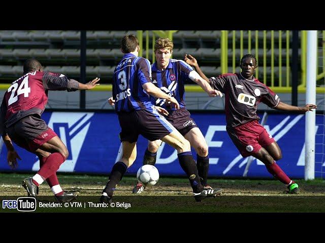 2001-2002 - Jupiler Pro League - 28. Club Brugge - AA Gent 0-1