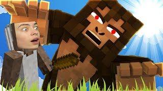 БАБУЛЬКА И СЛЕНДЕРИНА ПОЙМАЛИ БИГФУТА ОХОТА В ЛЕСУ Granny slendrina Finding Bigfoot