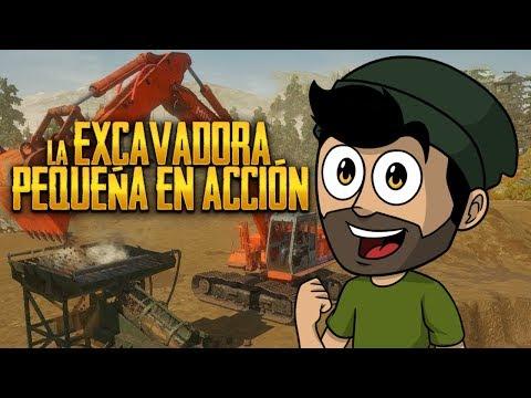 LA EXCAVADORA PEQUEÑA EN ACCIÓN ⭐️ Gold Rush #4   iTownGamePlay