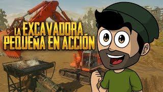 LA EXCAVADORA PEQUEÑA EN ACCIÓN ⭐️ Gold Rush #4 | iTownGamePlay