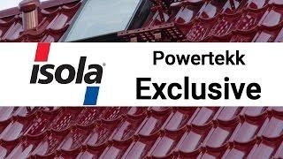 Композитная черепица Isola Powertekk Exclusive | обзор