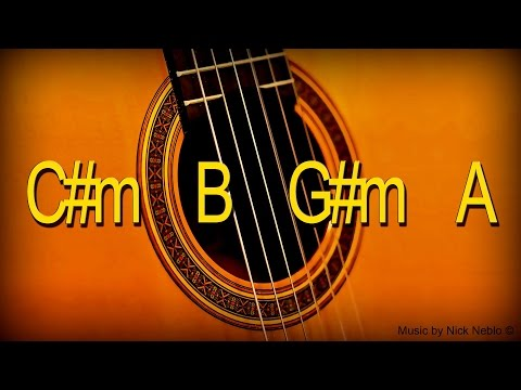 Backing Track Latin Rhythm Flamenco Guitar C# Minor