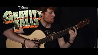 Gravity Falls: Theme Song/Weirdmageddon Guitar Cover by CallumMcGaw