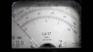 Проверка прибора Ц 437(Комбинированный прибор Ц437 ( Ц-437, Ц 437 ). В отличном состоянии! Советское качество. http://vk.com/retroobzor Используетс..., 2014-05-05T11:16:16.000Z)