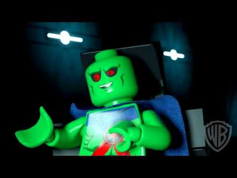 LEGO Batman: The Movie - DC Superheroes Unite - Batcave Clip