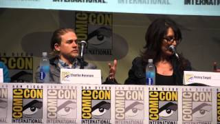 Katey Sagal & Theo Rossi Of Sons Of Anarchy On Betraying Clay In Season 5 Finale @ SDCC 2013