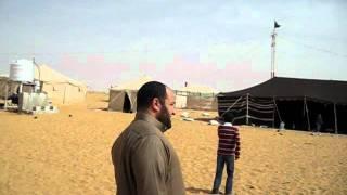 براعم الصف الرابع أ في مخيم زميلهم زياد المحيسني 1