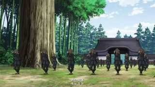 This is the ending of the movie 劇場版 戦国BASARA -The Last Party- ...