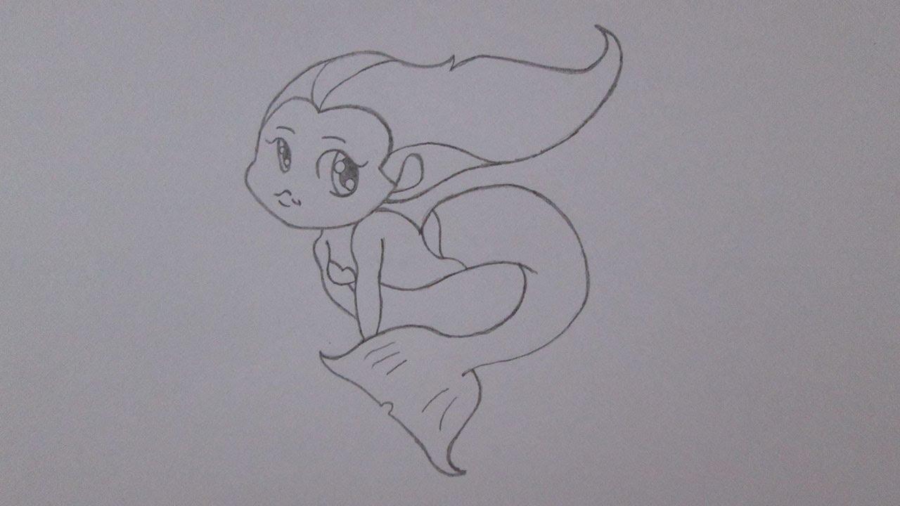Como Desenhar Uma Sereia Youtube