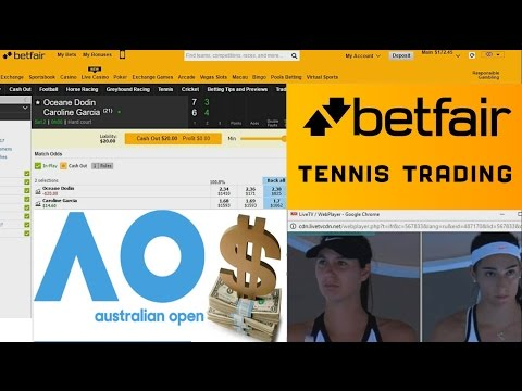 Betfair Tennis Trading AO 2017