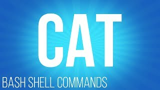BASH Shell commands cat ( commands for linux )