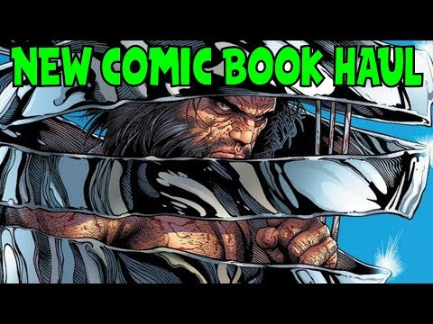 New Comic Book Haul April 25 2018