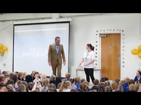 David visits his Britain's Got Talent Golden Buzzer act