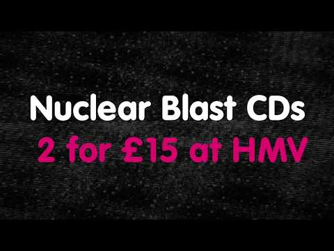Nuclear Blast UK x HMV - 2 CDs for £15