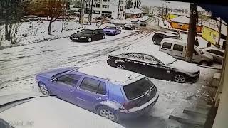 Accident in Reghin