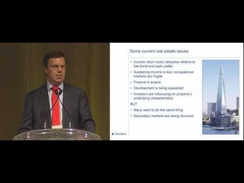 REIW Asia 2012: Presentation by Andrew Smith, Global Head of Property, Aberdeen Asset Management