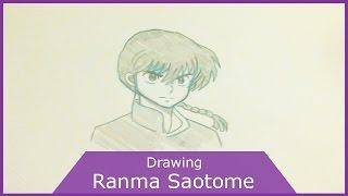 Ranma Saotome Sketch - Mangaka J