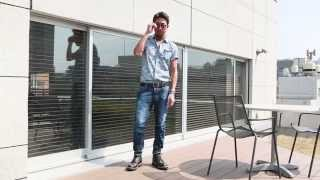 干場義雅氏リコメンド。トレンドを盛り込んだ半袖シャツの着こなし thumbnail