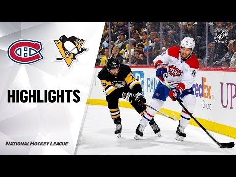 Питтсбург---Монреаль-/-nhl-highlights-|-canadiens-@-penguins-12/10/19
