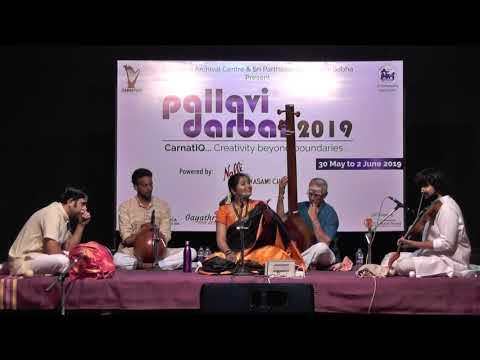 S.Mahathi   Grand Pallavi Darbar Concert L Carnatica & SPS Sabha L 2019