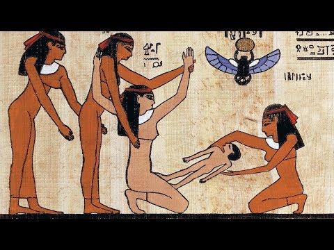 Как рисовали египтяне