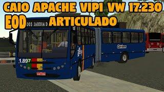 SAIU NOVO MOD PARA O PROTON ROAD E URBANO!! CAIO APACHE VIP 1 VW 17.230 EOD ARTICULADO