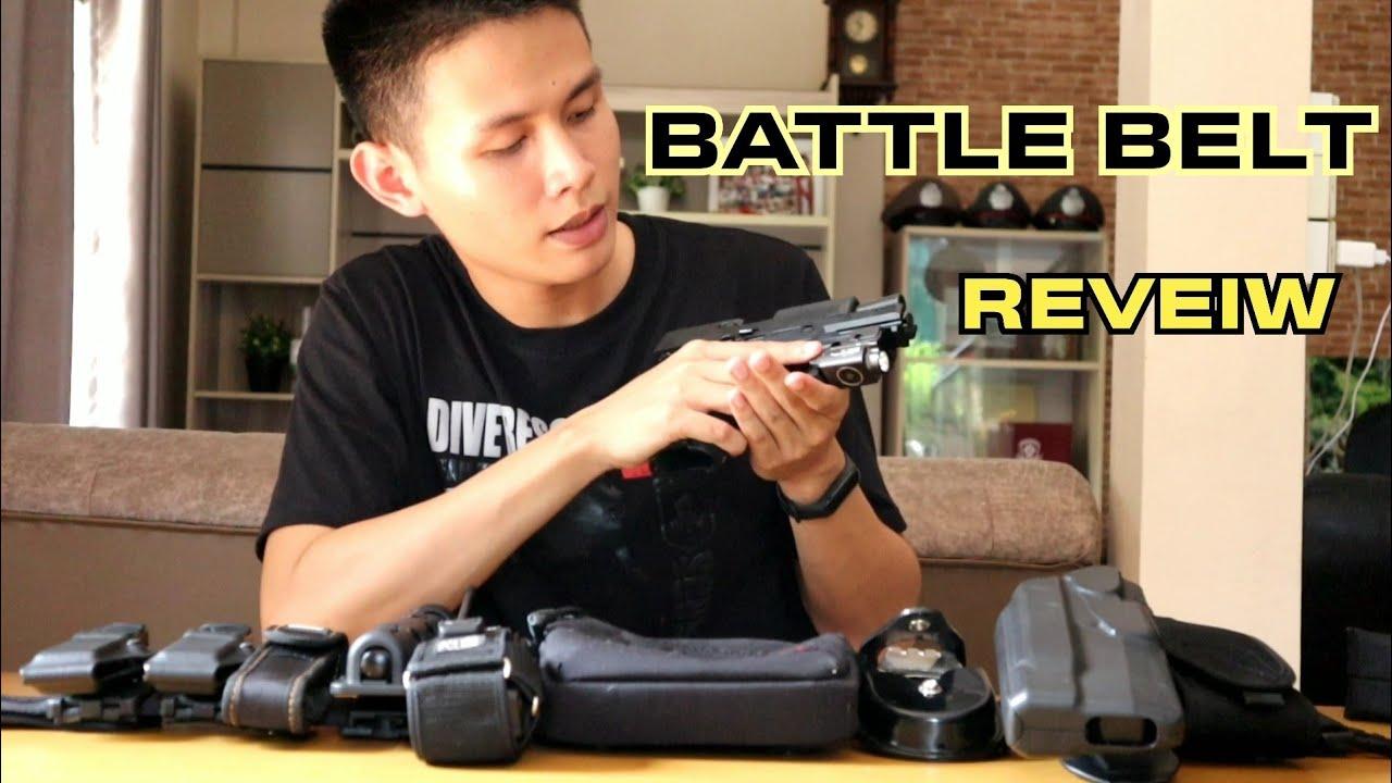รีวิวเข็มขัดสายตรวจ Battle Belt l By PPN Shooter