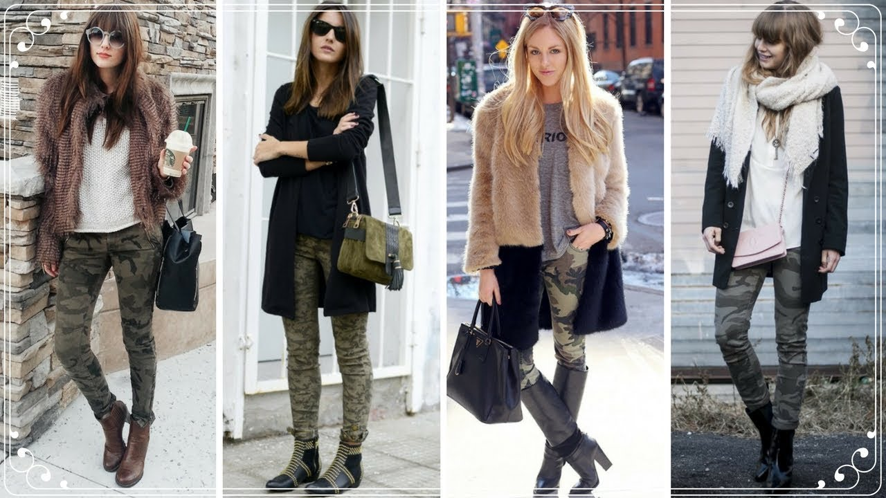 FASHION TRENDS 2018 | NEW CASUAL CARGO PANTS OUTFIT IDEAS ...