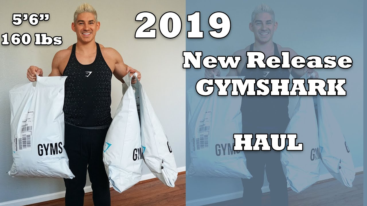 f3e86770b387f MASSIVE 2019 GYMSHARK HAUL TRY ON REVIEW - All new releases and styles