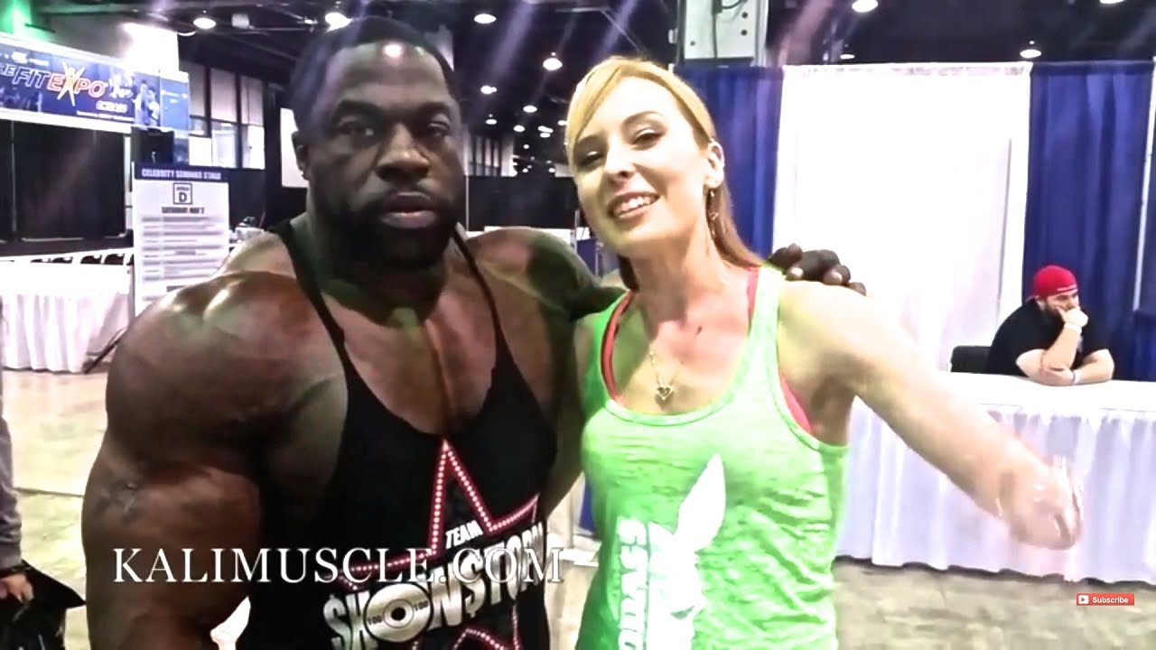 Chicago Fit Expo Kali Muscle Thai X Kali Muscle