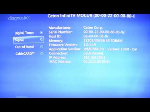 Windows Media Center video errors, Ceton InfiniTV