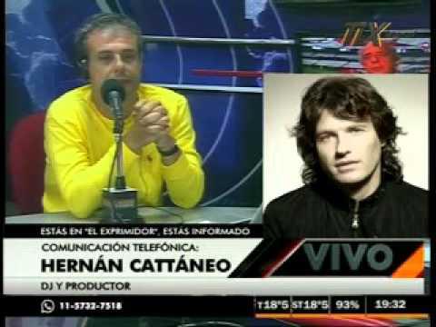 Hernan Cattáneo en El Exprimidor