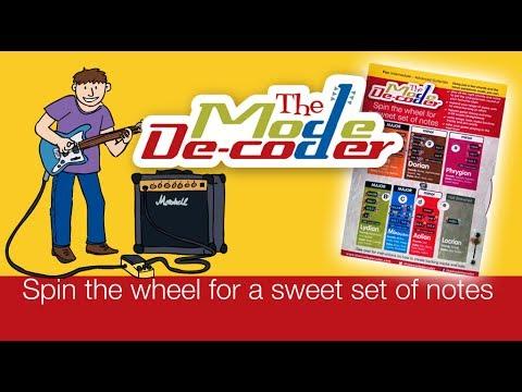 Guitar modes made easy - The Mode De-coder guitar wheel